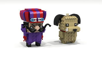 Набор LEGO MOC-10307 Dick Dastardly and Muttley