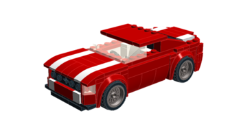 Набор LEGO MOC-10359 7-Wide Ford Mustang