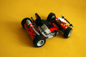 Набор LEGO MOC-10372 Update of 8842 Go-Cart