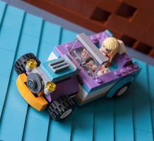 Набор LEGO MOC-10555 41310 Stephanie's hot rod