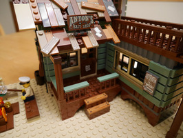 Набор LEGO MOC-10700 Cathy's Fishing Lodge