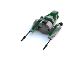 Набор LEGO MOC-10992 Yoda's Fighter MKII