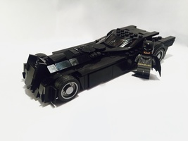 Набор LEGO MOC-11166 Rebirth Batmobile
