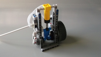 Набор LEGO MOC-12281 1 Cylinder Lego Pneumatic Engine - Modified (High RPM)