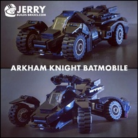 Набор LEGO MOC-12398 Arkham Knight Batmobile