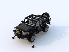 Набор LEGO MOC-12442 Offroad Pickup (Filsawgood) remix RC