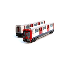 Набор LEGO MOC-12553 TFL London Underground rolling stock - Tube train