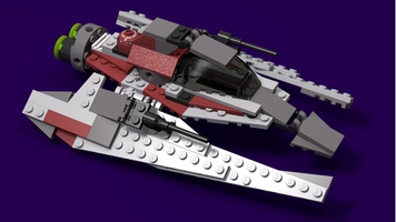 Набор LEGO MOC-12562 Space Speeder