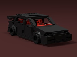 Набор LEGO MOC-12598 1996 Honda Accord EX-L V6 Blackout Edition