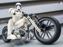 Набор LEGO MOC-12655 2nd Stormtrooper motorcycle - 42036+42045+42047