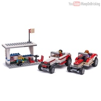 Набор LEGO MOC-12843 60182 Hot Rod Duel