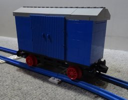 Набор LEGO MOC-12847 Closed wagon