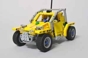 Набор LEGO MOC-12870 S.W.I.N.E. Rabbit Command Vehicle