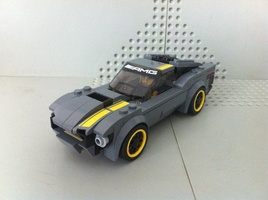 Набор LEGO MOC-12880 75877 Ford Mustang Fastback