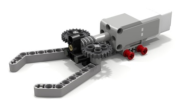 Набор LEGO MOC-12890 EV3 Simple Gripper by Filipp Sudanov