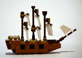 Набор LEGO MOC-12949 21313 - Alternate ship build