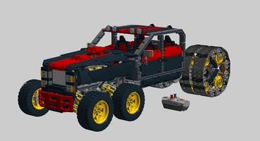 Набор LEGO MOC-13004 The Ultimate Vehicle V2