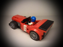 Набор LEGO MOC-13245 75886 Hot Rod