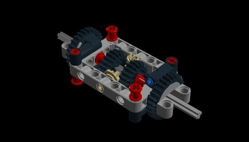 Набор LEGO MOC-13273 Simple differential