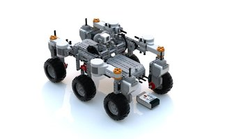 Набор LEGO MOC-13368 Simple Mars Rover