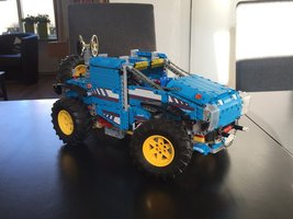 Набор LEGO MOC-13387 42070-1 Alternate Build - Playing with the gears