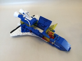 Набор LEGO MOC-13392 Cosmic Fleet Space Shuttle with Satellite