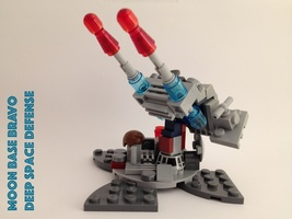 Набор LEGO MOC-13592 Deep Space Defense, Moon Base Bravo