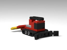 Набор LEGO MOC-13679 Pistenbully 600 Snow Groomer