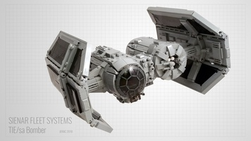 Набор LEGO MOC-13952 TIE Bomber - Perfect Minifig Scale
