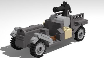 Набор LEGO MOC-13983 World War 1 Scout car
