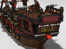 Набор LEGO MOC-13998 The Crimson Sparrow