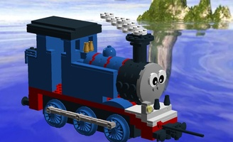 Набор LEGO MOC-14166 Thomas and Friends - Thomas the Thank Engine