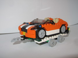 Набор LEGO MOC-14234 4837 Set Alternative Car Trailer