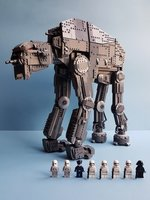Набор LEGO MOC-14910 UCS First Order Heavy Assault Walker AT-M6
