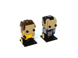 Набор LEGO MOC-14988 Kirk and Spock