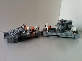 Набор LEGO MOC-15032 Imperial Assault Hovertank Trailer