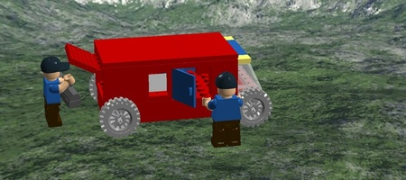 Набор LEGO MOC-15226 the car