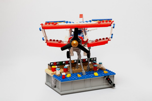 Набор LEGO MOC-15462 Kinetic Stand for Daredevil Stunt Plane