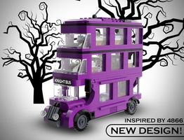 Набор LEGO MOC-15823 KNIGHT BUS Lego (design inspired by 4866)