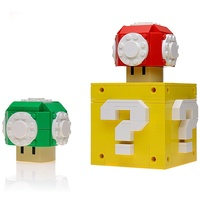 Набор LEGO MOC-15826 Custom LEGO Power Up Mushrooms and Question Box