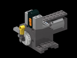 Набор LEGO MOC-15996 Remotely controlled track switch