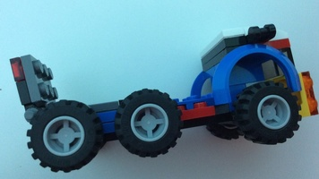 Набор LEGO MOC-16147 31033 MOC Mini Car Carrier with Car