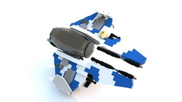 Набор LEGO MOC-16478 PloKoon ETA-2 and banked flight stand