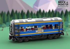 Набор LEGO MOC-17723 Gwendolyn Passenger Train Car