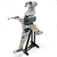 Набор LEGO MOC-18137 B-wing Starfighter - Minifig Scale