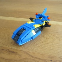 Набор LEGO MOC-18182 4882 Wave crasher