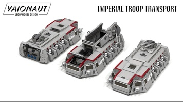 Набор LEGO MOC-18186 Imperial Troop Transport