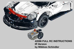 Набор LEGO MOC-20684 Custom 42096 Full RC with LED lights - IR Version