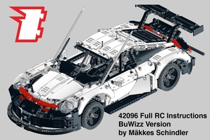 Набор LEGO MOC-20691 Custom 42096 Full RC with LED lights - BuWizz Version