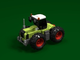 Набор LEGO MOC-20772 CLAAS XERION 5000